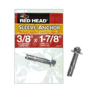 Red Head 50114 3/8 Inch By 1-7/8 Inch Concrete Sleeve Anchor