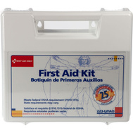 First Aid Only 223-U/FAO First Aid Kit 25 Person 107 Piece