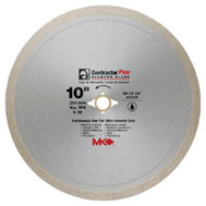 MK Diamond 167010 10 Inch Continuous Rim Wet Cutting Tile Blade