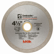 MK Diamond 167028 4-1/2 Inch Wet Tile Blade