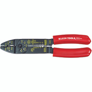 Klein Tools 1001 All Purpose Electricians Wire Cutter Tool, 2 Wire Cutters, 1 At Tip, The Other Halfway Back Near Stripping Holes.