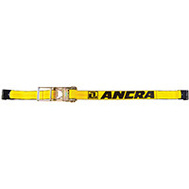 Ancra S-Line 48987-20 3 Inch By 27 Foot Ratchet Strap With Flat Hook