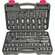 NATI 52341 Speedway 64 Piece Socket Wrench Set SAE And Metric