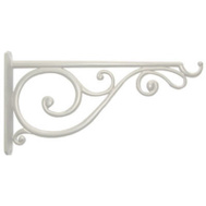 Panacea 85014 14 Inch White Victorian Scroll Bracket