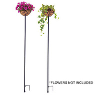 Panacea 88940 Black Planter Stake 69 By 10 Inch