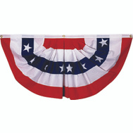 Valley Forge Flag PMF 1 1/2 By 3 Foot Mini Pleat With Stars