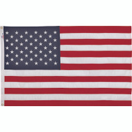 Valley Forge Flag USDT3 USA Flag 3 By 5 Foot Polyester Spun