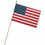 Valley Forge Flag USE12D 12 Inch By 18 Inch Stick Flags