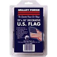 Valley Forge Flag 99000-1 29 Inch By 50 Inch Poly Flag With Sleeve