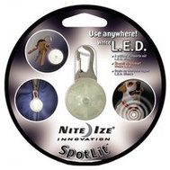 Nite Ize SLG-03-02 Carabiner Light Led Wht