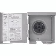 Connecticut Electric PS-54-HR Outlet Panel Rv Pwr Outdr 50A