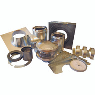 American Metal 6HS-TWK Chimney Installation Kit