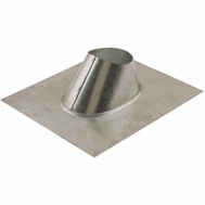 American Metal 6EF Ameri Vent Flashing Fits 6 Inch Double Wall Chimney Pipe