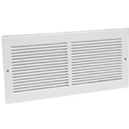 American Metal 372W12X6 12 By 6 Inch White Return Grille