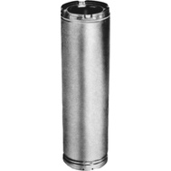 American Metal 8HS-12 Ameri Tec Insulated Chimney Pipe 12 By 8 Inch