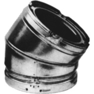 American Metal 8HS-030 Chimney 30 Degree Offset 8 Inch