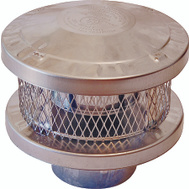 American Metal 8HS-RCS Round Vent Pipe Cap 8 Inch