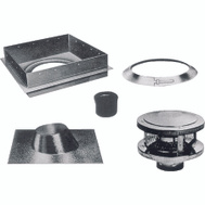 American Metal 6HS-RKS Chimney Installation Kits Round All Fuel 6 Inch