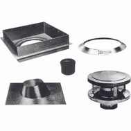 American Metal 8HS-RKS Chimney Installation Kits Round All Fuel 8 Inch