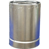 Airjet 6S3 Fuel Chimney Pipe 6 Inch By 3 Foot