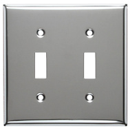 Mulberry Metals 83072 CHR 2G TOG Wall Plate