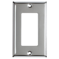 Mulberry Metals 83401 CHR 1G GFCI Wall Plate