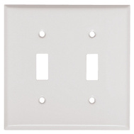 Mulberry Metals 86072 WHT 2G TOG Wall Plate