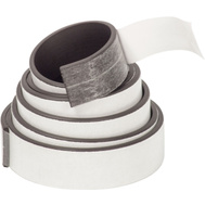 Master Magnetics 07011 Flexible Magnetic Tape With Adhesive 1/2 Inch By 30 Inch Roll