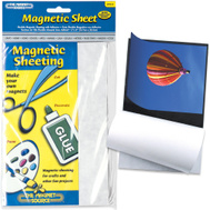 Master Magnetics 07014 Sheet Mag 5X8inch W/Adh Liner