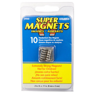 Master Magnetics 07045 0.3 Inch By 0.11 Inch Neodymium Disc Magnet Pack Of 10