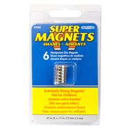 Master Magnetics 07046 0.47 Inch By 0.11 Inch Neodymium Disc Magnet Pack Of 6