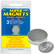 Master Magnetics 07047 0.7 Inch By 0.11 Inch Neodymium Disc Magnets Pack Of 3