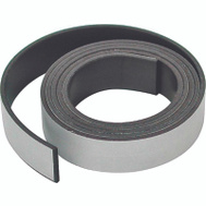 Master Magnetics 07053 Flexible Magnetic Tape With Adhesive 1 By 30 Inch