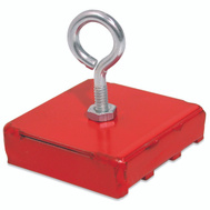 Master Magnetics 07206 40 Pound Lift Magnetic Base Red