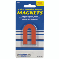 Master Magnetics 07225 Red Small Horseshoe Magnet