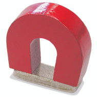 Master Magnetics 07279 1 Inch 2 Pound Horseshoe Magnet With Keeper
