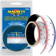 Master Magnetics 07286 1 Inch By 1 Meter Magnetic Measuring Tape