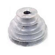 Chicago Die Casting 141 5/8 5/8 Inch Bore V Groove 4 Step Pulley