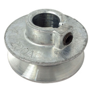 Chicago Die Casting 200A 6 2 By 5/8 Inch Single V Grooved Pulley