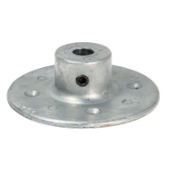 Chicago Die Casting 2123 Die Cast Hub 1/2 By 3 3/4 Inch