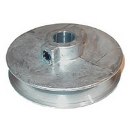 Chicago Die Casting 350A 6 3 1/2 By 5/8 Inch Single V Grooved Pulley