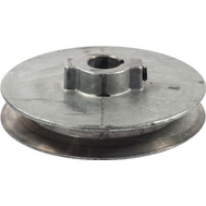 Chicago Die Casting 400A 6 4 By 5/8 Inch Single V Grooved Pulley