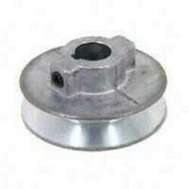 Chicago Die Casting 550A 5/8 By 5-1/2 Inch Single V Grooved Pulley