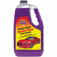 Aiken Chemical 9220P Purple Power Car Wash/Wax W/Carnuba 128 Ounce