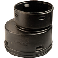 Advanced Drainage 0314AA 3 By 4 Inch Corrugated Reducer Coupler