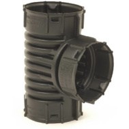 Advanced Drainage 0421AA 4 Inch Heavy Duty Snap Tee