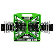 Grip On Tools 89364 28PC Combo Wrench Set