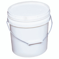 Encore 20256 2 Gallon White Plastic Paint Pail
