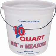 Encore 20325 Mix n Measure Paint Pail Plstc W Hndl 10Qt