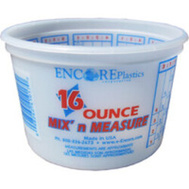 Encore 300352 Container Mix Plastic 16 Ounce